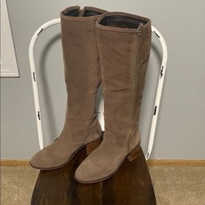 Steve Madden Boots Brown Suede